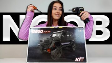My Wife Builds Her FIRST RC… (MN86k G500 Build) – Part 1