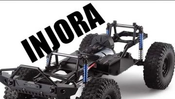 Injora Rc SCX10.2 Assembled Chassis with Wheels rc car