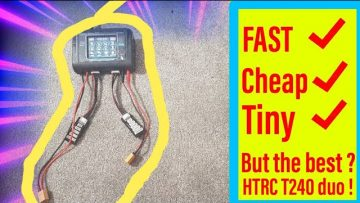 """Cheap And """"FAST"""" Dual Charger ! Htrc T240 Duo Review"""