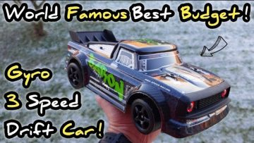 SG 1603 / UDIRC 1601 3 Speed Gyro Budget Drift Car unboxing and short review