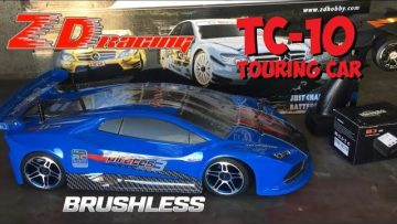 ZD Racing Pirates3 TC-10 Brushless 1/10 Scale Touring Car Overview