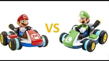 Mario Kart RC Racers Reviewed: Mario Kart RC Racer Battles: Mario & Luigi Battle: Toy Reviews by Dad
