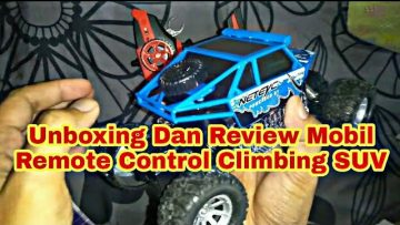 Unboxing Dan Review Mobil Remote Control Climbing SUV