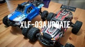 XLF-X03 / XLF-03A Brushless RC truck from Banggood. Modification Update