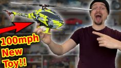 Worlds Fastest Mini RC Helicopter Build & Crash