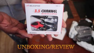 3 5 Channel Micro Rc Helicopter Unboxing:Review