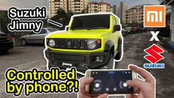 Xiaomi Suzuki Jimny 4WD   RC smart car controlled by a phone? Good value for $40?