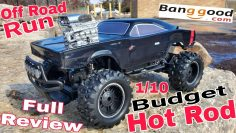 Budget 1/10 RC Hot Rod!! Off Road Bashing!! Full Review