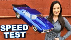 How FAST is the Losi 1969 Camaro RC CAR DRAG RACER Right out of the Box? – TheRcSaylors