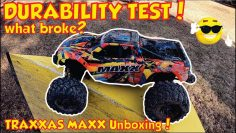 Traxxas Maxx Unboxing and Review – Traxxas Maxx Durability Test – Maxx Solar Flare