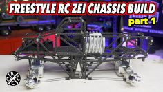Freestyle RC ZEI Chassis Monster Truck Build: Parte 1 – Axles and Scale Driver