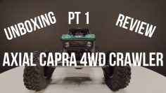 PT 1 | AXIAL CAPRA 4WD RC Crawler Unboxing | Pregled | Product Info | Test Run | Getting Started
