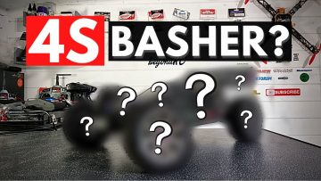Can we turn this 1/8th Buggy into an EPIC 4S Basher?