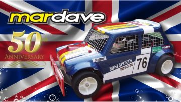 EXCLUSIVE! Mardave Mini 50th Anniversary 1 Of Only 50 Sold! British Vintage RC Car Rerelease.