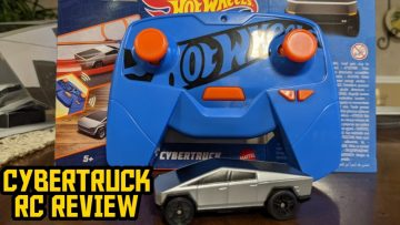 Tesla Cybertruck Hot Wheels RC 1/64 Scale Unboxing & Review