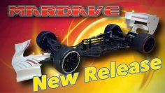 Exclusivo! Primer vistazo al mardave FP1 1/10th F-1 Carbono RC Race Car Chasis.