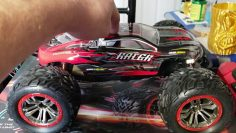 S921 RC Basher!! SOYEE RC CAR 1:10 escala 46km/hr, 4Camión monstruo impermeable WD!! Checo fuera!!