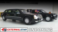 1:18 Cadillac Presidential State Car by CMF | Unboxing e revisão