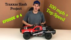 100 mph Traxxas Slash Project – EPISODE #4 – Wheel Hex 17mm Adapters and DBoot HOONS Wheels/Tires!