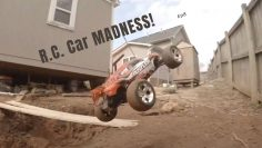 R.C. Car Madness Ep. 8 / My Creations Ep. 3 (Mini Backyard R.C. Car Track)