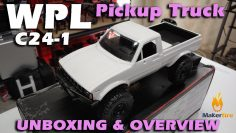 WPL C24-1 R/C Toyota Pickup Truck Unboxing & Overview