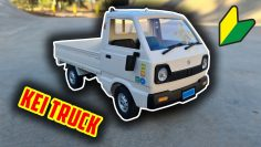 SCALE JDM RC KEI TRUCK! Will it Drift? WPL D12 Unboxing & Examen!