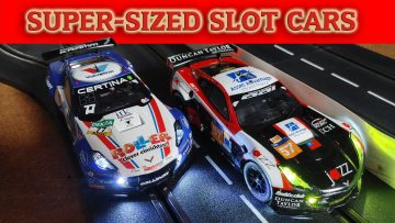 1/24th Scale Slot Car Racing – Carrera Digital 124