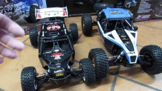 Let's Compare:  Team Losi Tenacity vs. Lasernut  RC buggies