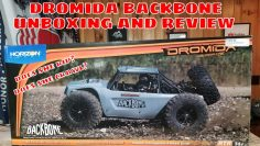 Dromida Backbone Unboxing and First Impression Review – 1/10th scale RTR