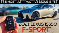 2021 Lexus IS350 F-Sport: Start up & Полный обзор
