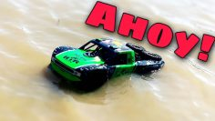 Testing Amazon's AMPHIBIOUS RC car- Ruko C11
