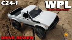 WPL C24 1 R/C Toyota Pickup Truck Crawler Drive Review