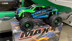 NEW!!! TRAXXAS MAXX UNBOXING/ FIRST IMPRESSION REVIEW