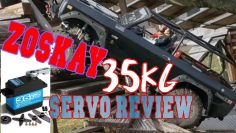 Zoskay 35kg servo review and test