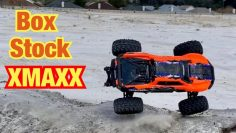 I got a Box Stock Xmaxx and took it for a drive