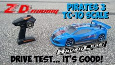 ZD RACING Piratas 3 TC-10 Revisión de coches rc sin escobillas