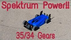 Arrma Limitless Shaking It Down Spektrum Hot Racing Carbon Fiber