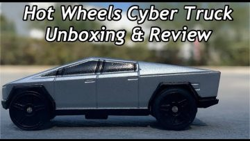 Hot Wheels Cybertruck RC Review & Unboxing. (ACTUAL IN PERSON CYBERTRUCK MUSEUM WALK-AROUND FOOTAGE)
