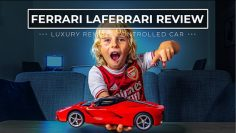 8 Year Old reseña Ferrari LaFerrari RC Car – DERIVAS LOCAS!