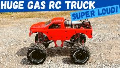 HUGE GAS RC MONSTER TRUCK | RC Car Shopping Primal RC Raminator Team Corally Axial