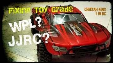 Fixing Toy Grade with WPL?JJRC?Rey guepardo 1:18 RC Muscle Extreme Power