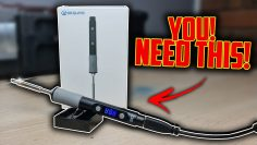 6S POWERED! Portable Soldering Iron! SEQURE B60D Unboxing & Examinare!
