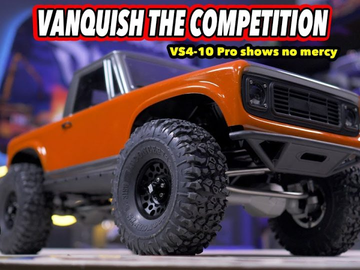 Vanquish The Competition! VS4-10 Pro First Look and Drive