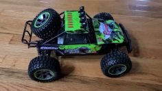 Coches de control remoto adulto IPX5 impermeable Monster Car 4WD 2 4G Hobby RC Camiones