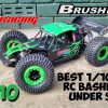 ZD Racing DBX-10 Brushless Bash Test  – Powerful 4×4 RC Under $300 – Cheaper Lasernut Alternative?