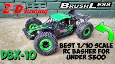 ZD Racing DBX-10 Brushless Bash Test  – Potente 4×4 RC Under $300 – Alternativa lasernut più economica?