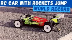 Mega RC Car Jump | Voiture Rocket RC | Tekno RC Hot Bodies RC Custom RC Voiture
