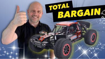 Wow, ALL THIS FOR £138 ($189)! ZD Racing 1/10 4WD 2.4G Desert Truck RTR Unboxing, Run & Review DBX10