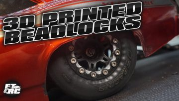 NEW Wheels & Custom 3D Printed Beadlock Rings Install | RC No Prep Drag Racing