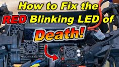 Red Blinking LED of DEATH!!! – (How to fix it) RC car ESC